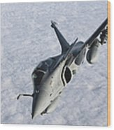 Dassault Rafale B Of The French Air Wood Print