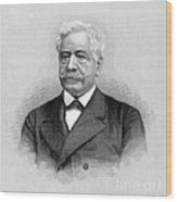 De Lesseps, French Diplomat, Suez Canal Wood Print
