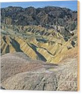 Death Valley Morning Wood Print