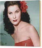 Debra Paget, Ca. 1950s Wood Print