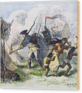 Destroying Villages, 1791 Wood Print