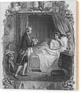 Dining, 19th Century Wood Print