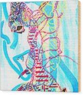 Dinka Angel Bride - South Sudan Wood Print