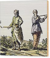 Divining Rod, 17th Century Wood Print