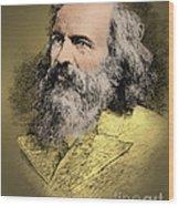 Dmitri Mendeleev, Russian Chemist Wood Print