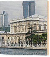 Dolmabahce Palace In Istanbul Wood Print