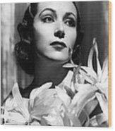 Dolores Del Rio, Portrait Ca. 1934 Wood Print