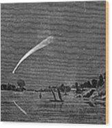 Donatis Comet, 1858 Wood Print