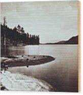 Donner Lake - California - C 1865 Wood Print
