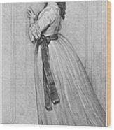 Dorothy Bland Jordan Wood Print by Granger