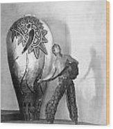 Douglas Fairbanks Wood Print by Granger
