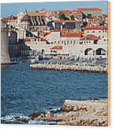 Dubrovnik Old City Architecture Wood Print