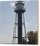 Duluth Mn Lighthouse Wood Print