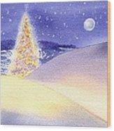 Dune Noel Wood Print