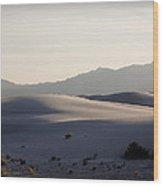 Dunes 4 Wood Print