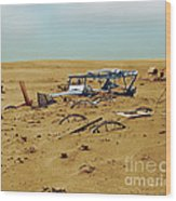Dust Bowl Wood Print by Omikron