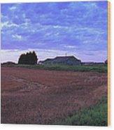 East Anglia Wood Print