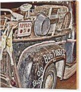 Eddie Bauer Bug Tussle Pick Up Wood Print