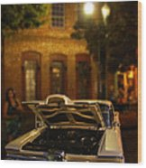 Edsel On Display Wood Print