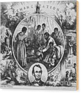 Effects Of Emancipation Proclamation Wood Print