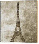 Eiffel Tower. Paris Wood Print