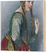 Eleanor Of Aquitaine Wood Print