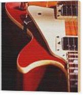 Electric Guitar I Wood Print