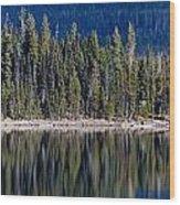 Elk Lake Oregon Wood Print