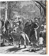 Emancipation, 1863 Wood Print