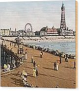 England: Blackpool, C1900 Wood Print