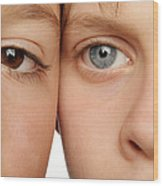Eye Colour Wood Print