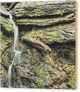 Falling Waters Wood Print by JC Findley