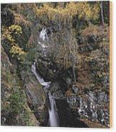 Falls Of Bruar Scotland Wood Print