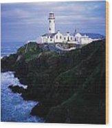 Fanad Lighthouse, Fanad Head, Co Wood Print