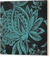 Fancy Flower Wood Print