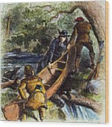 Father Jacques Marquette Wood Print by Granger