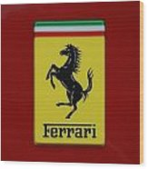 Ferrari Stallion Wood Print