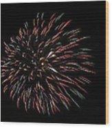 Fireworks Fun 3 Wood Print