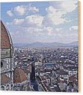Florence I Wood Print
