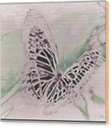 Flutter Wood Print