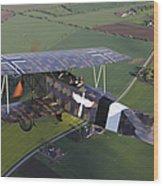 Fokker D.vii World War I Replica Wood Print