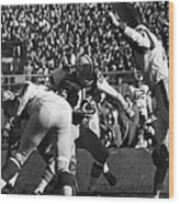 Football Game, 1965 Wood Print
