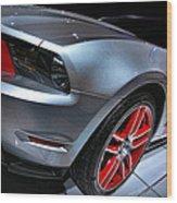 Ford Mustang - Boss 302 Wood Print
