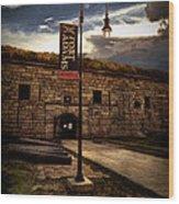 Fort Adams State Park Wood Print