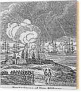Fort Mchenry, 1814 Wood Print