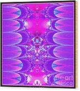 Fractal 16 Purple Passion Wood Print