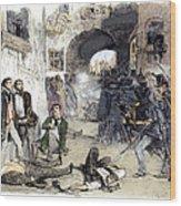 France: Paris Riot, 1851 Wood Print