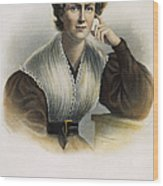 Frances Wright (1795-1852) Wood Print