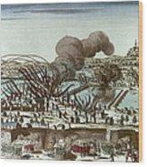 French Revolution, 1793 Wood Print