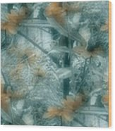 Garden Reverie Three Wood Print